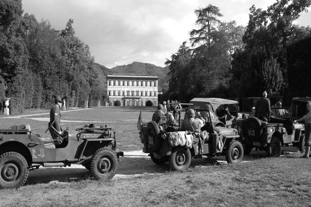 raduno auto d'epoca villa reale