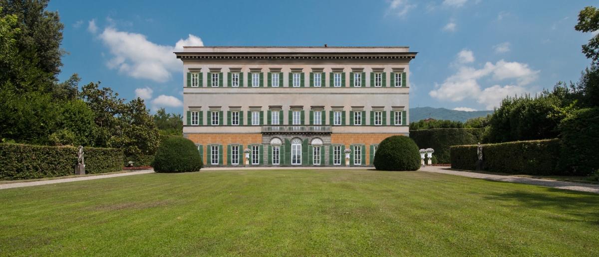 restauro villa reale marlia