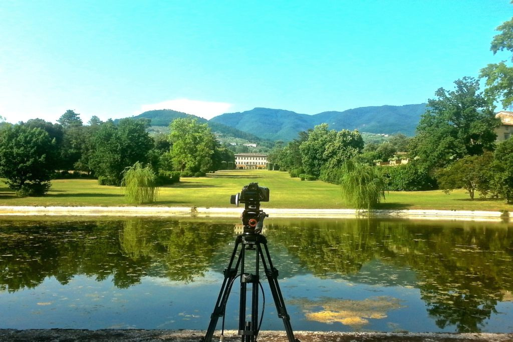 video villa reale marlia