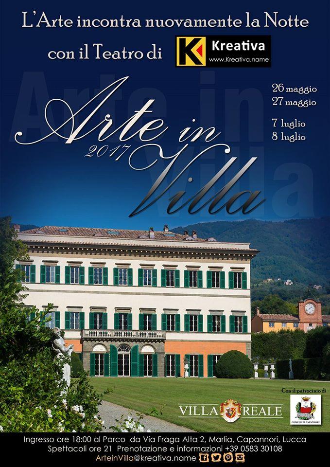 Arte in Villa by Kreativa - luglio in Villa Reale di Marlia