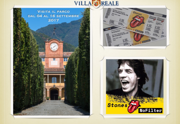 locandina concorso vinci Rolling Stones villa di marlia