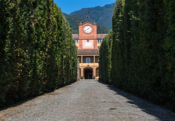 torre dell'orologioe viale - villa reale di marlia