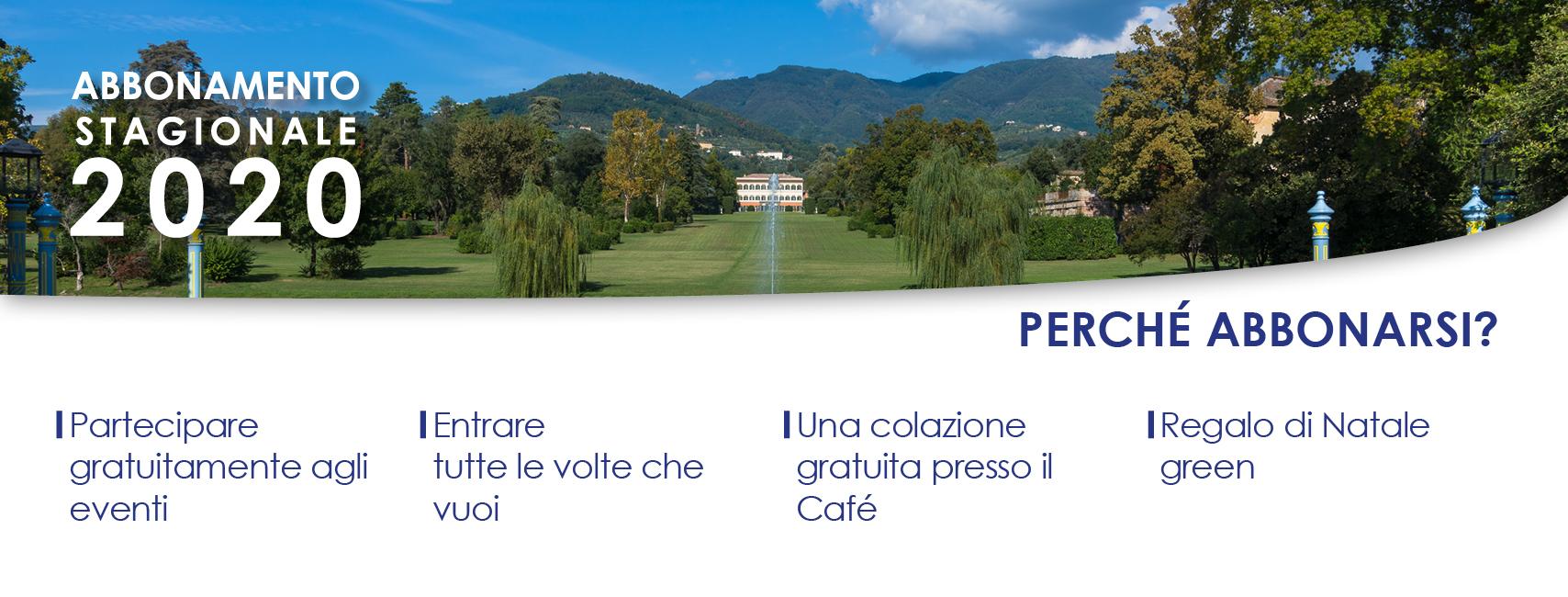 Perchè abbonarsi al parco di Villa Reale?