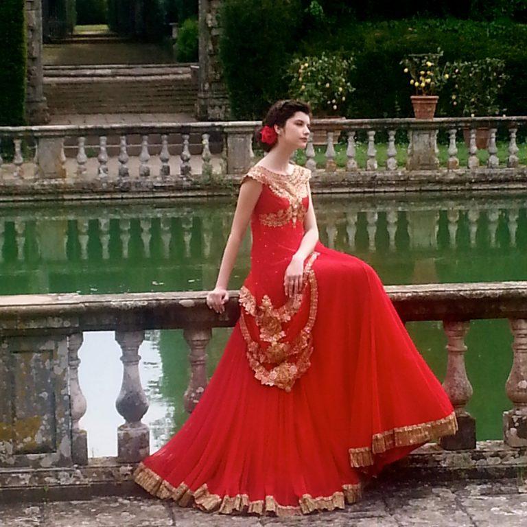 servizio fotografico Vipul e Jinaam Dresses in villa reale