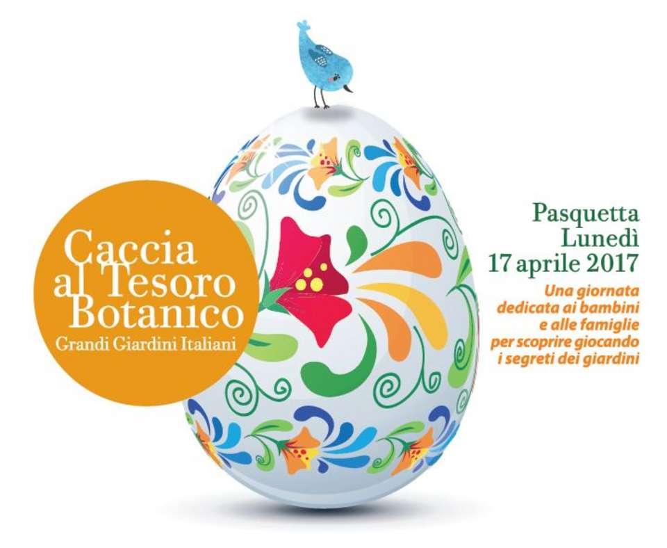 locandina Caccia-al-Tesoro-Botanico_Parco-di-Villa-Reale