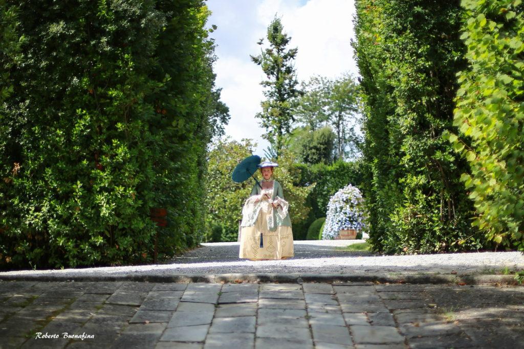 foto sulle tracce di Elisa Bonaparte Villa Reale di Marlia
