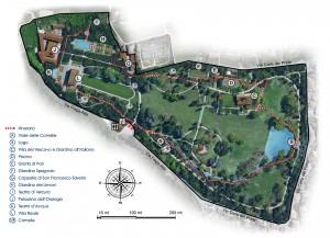 Parco-con-legenda villa reale