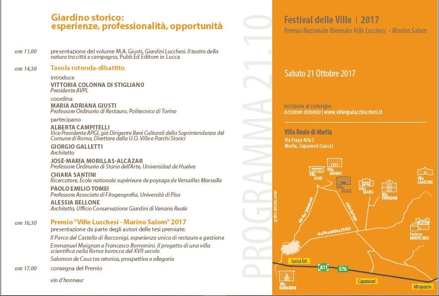 Programma-Festival-Ville-2017 - dettagli