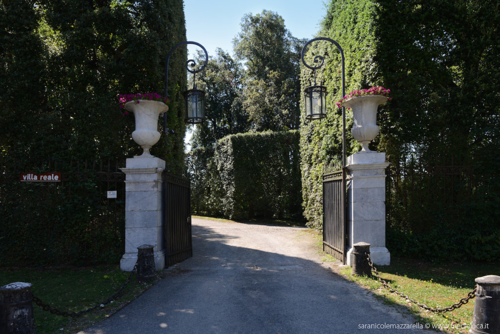 villa reale marlia ingresso
