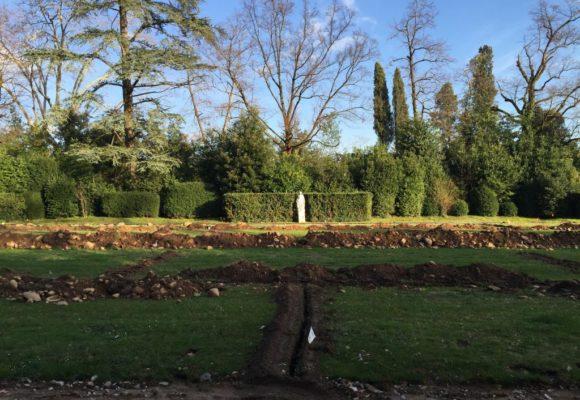 Il Parco in fase di restauro - Villa Reale
