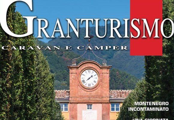 Villa Reale sulla copertina Granturismo e articolo Lucchesia, Fantasia di Camelie in Fiore - 2018