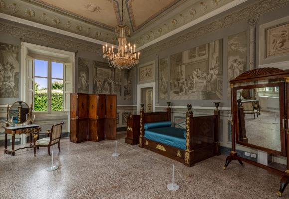 Camera della Principessa Elisa - Villa Reale di Marlia