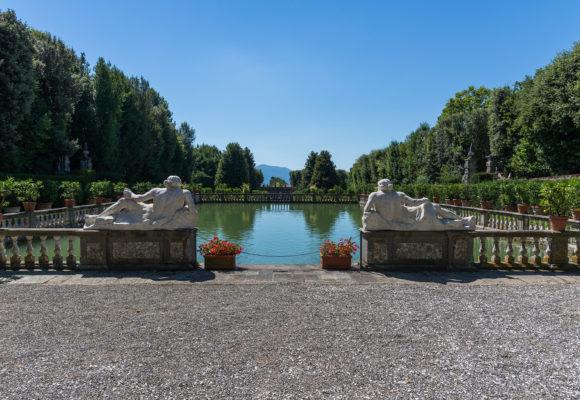 Statue del Serchio e dell'Arno, peschiera e Giardino dei Limoni - pgmedia.it