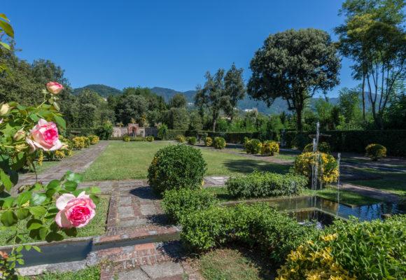 Panoramica del Giardino Spagnolo