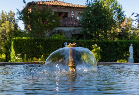 Dettaglio della fontana, Giardino spagnolo e Grotta di Pan - PGMEDIA