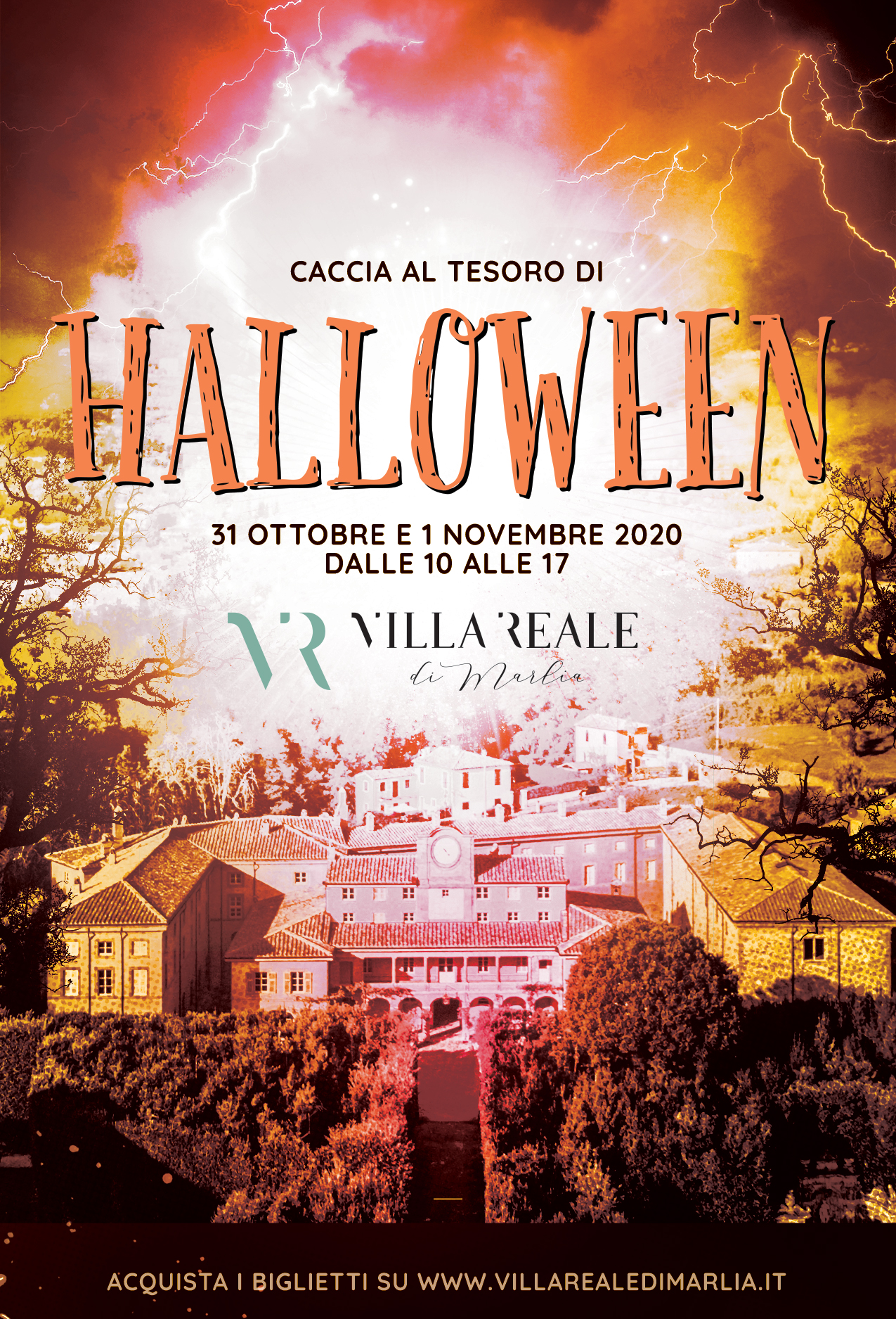 Halloween in Villa Reale - Lucca