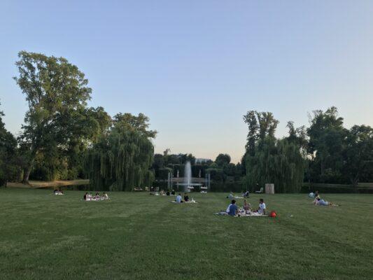 Pic nic al tramonto_Villa Reale di Marlia 2019