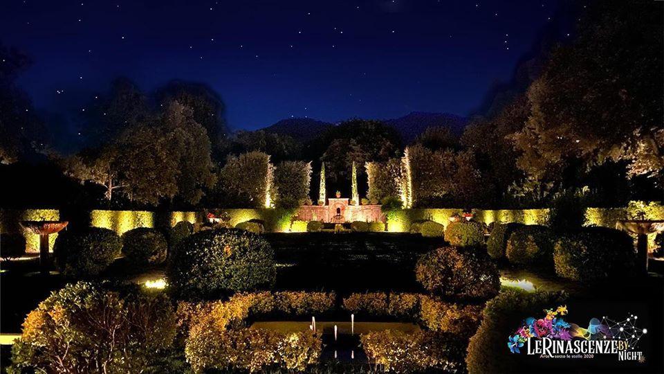 Le Rinascenze by night_Giardino Spagnolo_Villa Reale di Marlia