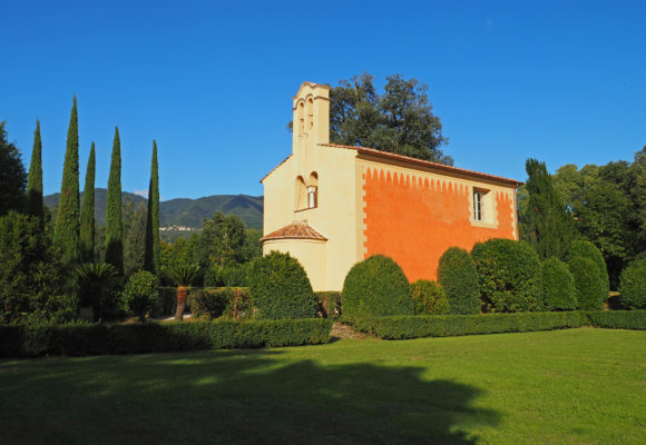 Cappella di San Biagio ristrutturata - Villa Reale di Marlia