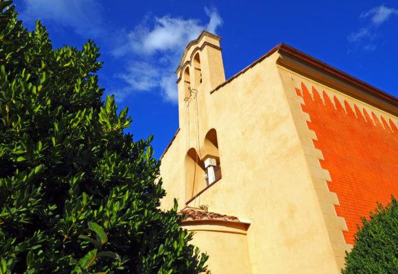 Campanile Cappella Ortodossa ristrutturata - Villa Reale di Marlia