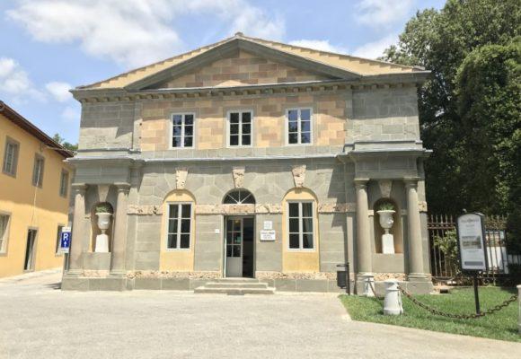 Palazzina gemella reception villa reale a restauro ultimato