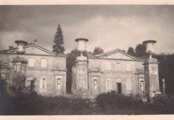 Palazzine Gemelle inizio secolo Villa Reale