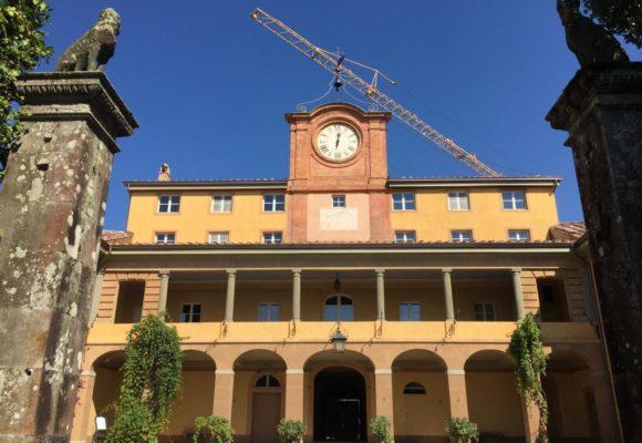Palazzina dell'Orologio restauri avanzati - Borgogni
