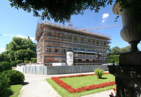 Restauro Villa Reale Borgogni 11