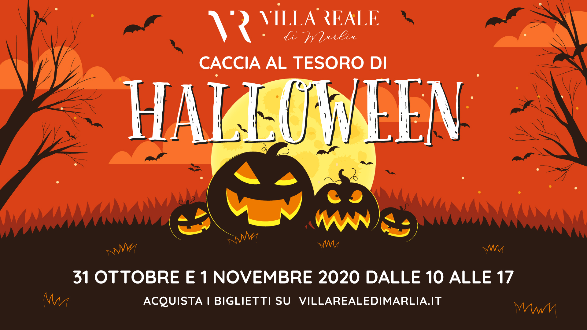 Halloween in Villa Reale 2020