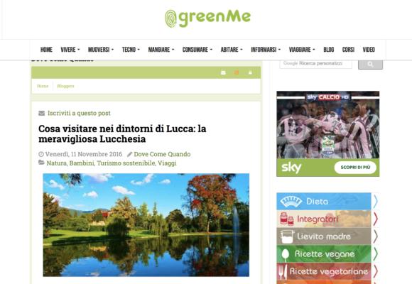 GreenMe - cosa visitare nei dintorni di Lucca