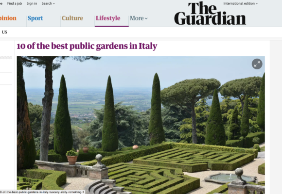 The Guardian: 10 of the best public gardens in Italy