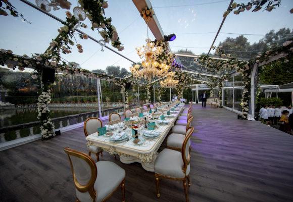 Catering e location di lusso, eventi privati in villa