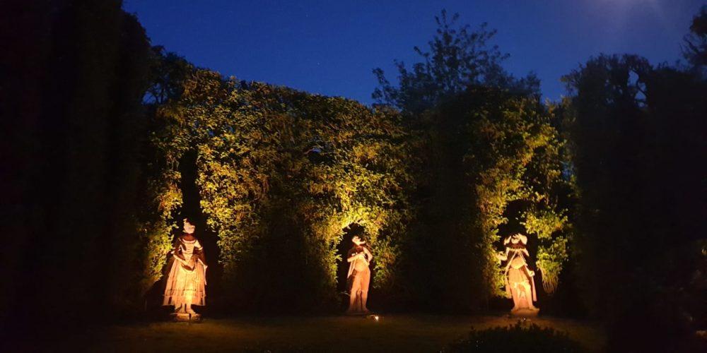 Teatro di Verzura più antico dEuropa dinotte Villa Reale di Marlia