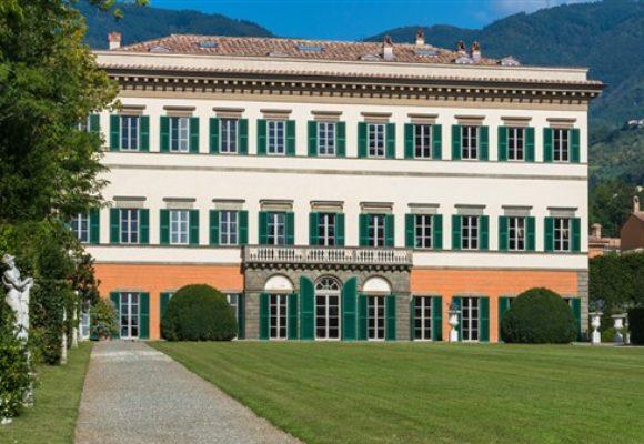 Villa Reale di Marlia, facciata principale