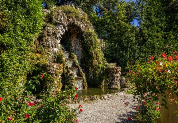 Villa Reale di Marlia, cascata del Teatro d'Acqua - Foto di Vincenzo Tambasco