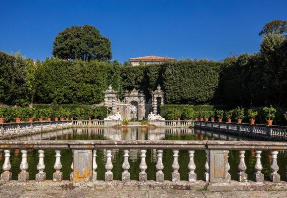 Villa Reale di Marlia, la peschiera del Giardino dei Limoni - Foto di Vincenzo Tambasco