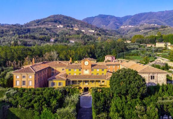 Foto aerea della Palazzina dell'Orologio - di Vincenzo Tambasco