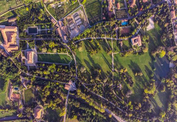 Villa Reale di Marlia panoramica dall'alto - Foto di Vincenzo Tambasco