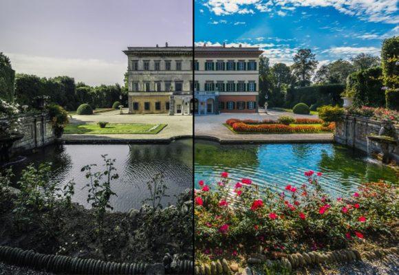 Villa Reale prima dopo e1487588757774