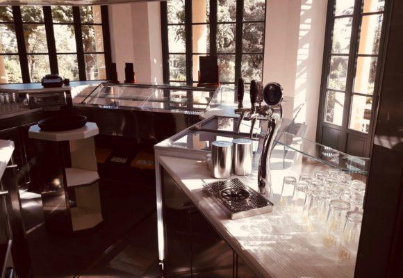 Café Villa Reale, interno