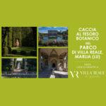 caccia al tesoro botanico in villa 2020 copertina