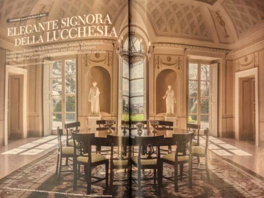 Speciale di Bell'Italia su Villa Reale di Marlia_aprile 2020