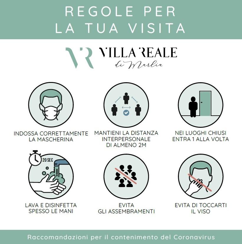 Regole visita 2020_Villa Reale di Marlia