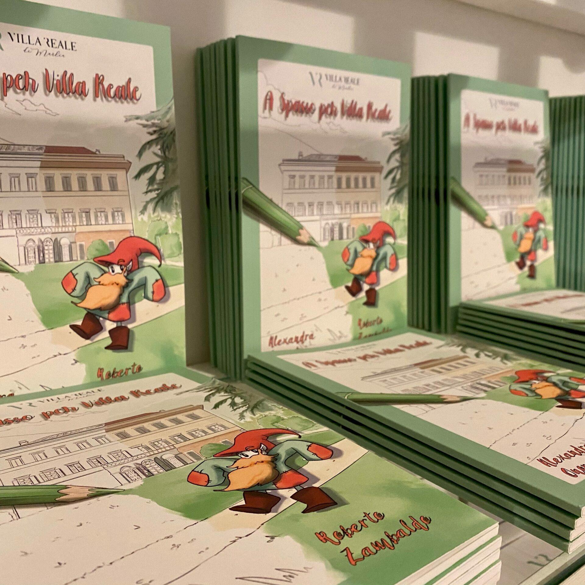 Libro per bambini - A spasso per Villa Reale_bookshop