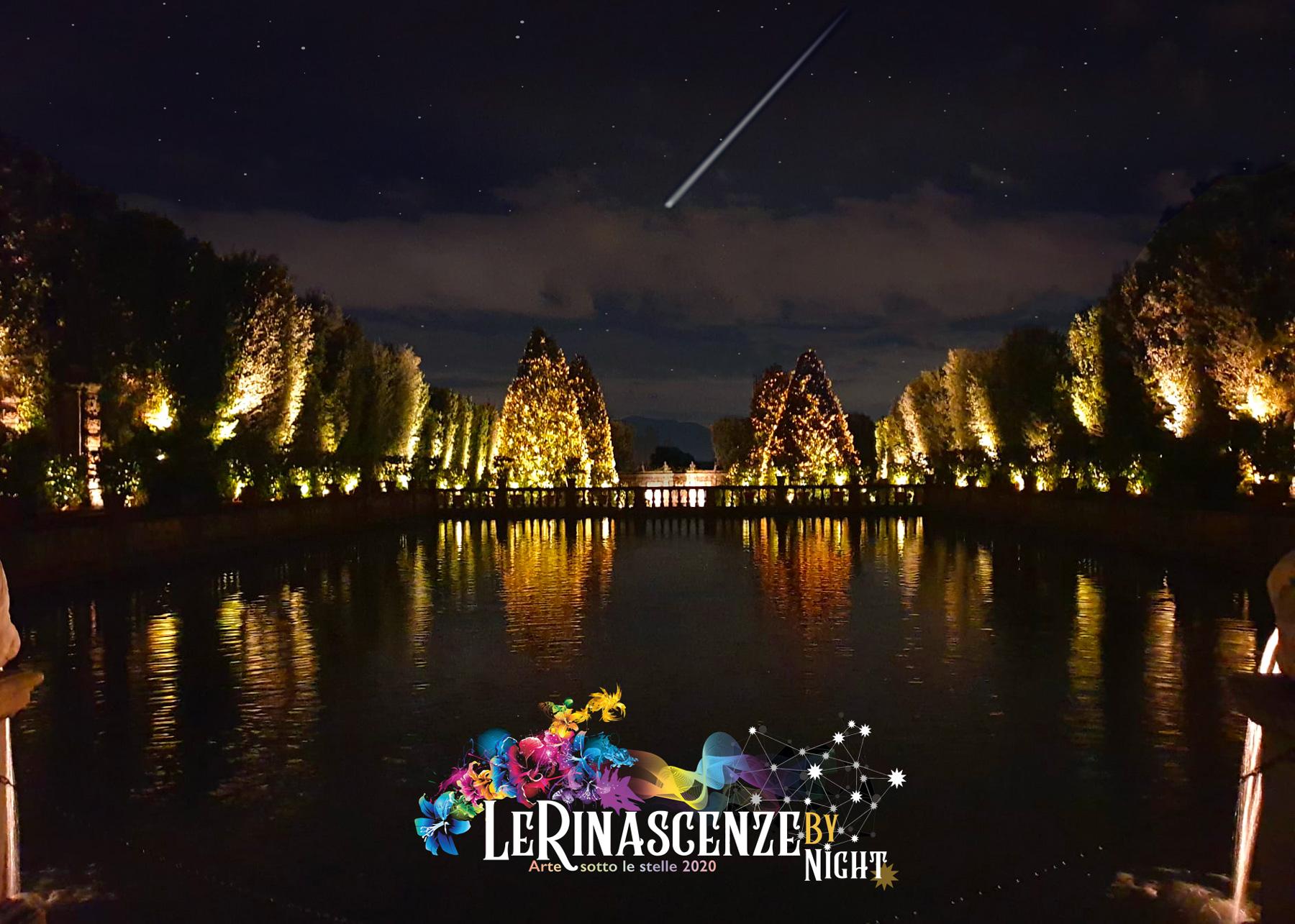 Le rinascenze by night_Villa Reale di Marlia