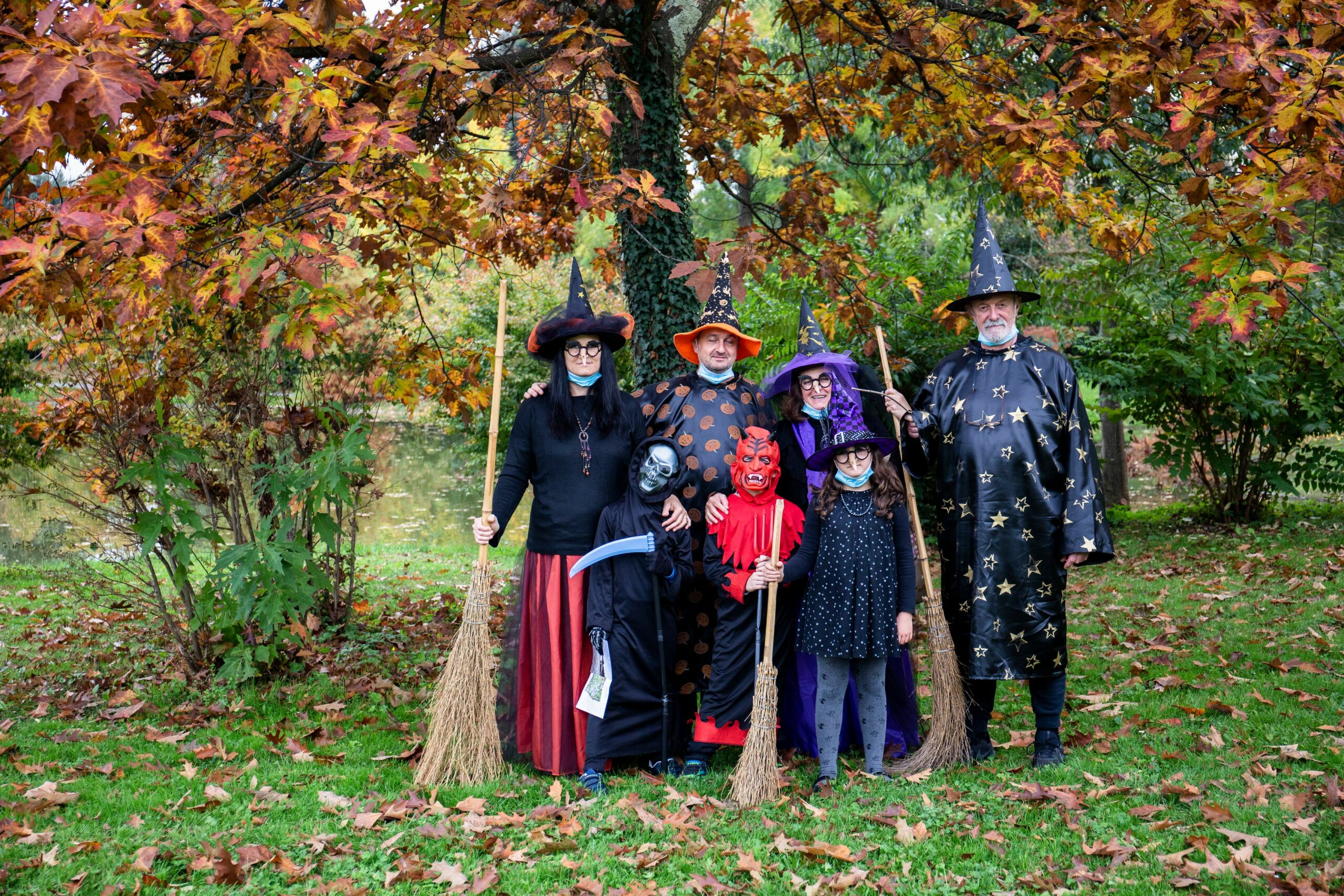 Halloween a Villa Reale di Marlia