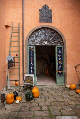 Halloween a Villa Reale di Marlia - il tunnel
